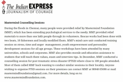 Indian Express-PTSD Chennai Floods